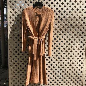 Vintage 2pc knit dress